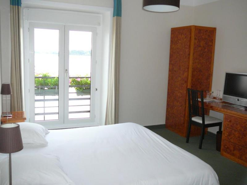 Double room with a sea view in Cancale