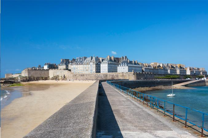 Intra-muros in Saint Malo